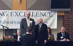 Mr. Meisel received Herb Kohl award!
